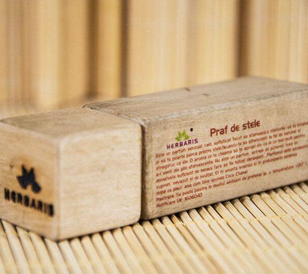 Parfum natural solid Praf de Stele 5ml