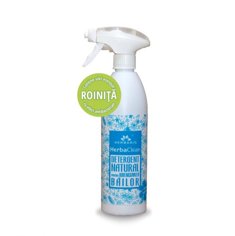 Detergent natural pentru igienizarea băilor cu Roiniţă, 500ml
