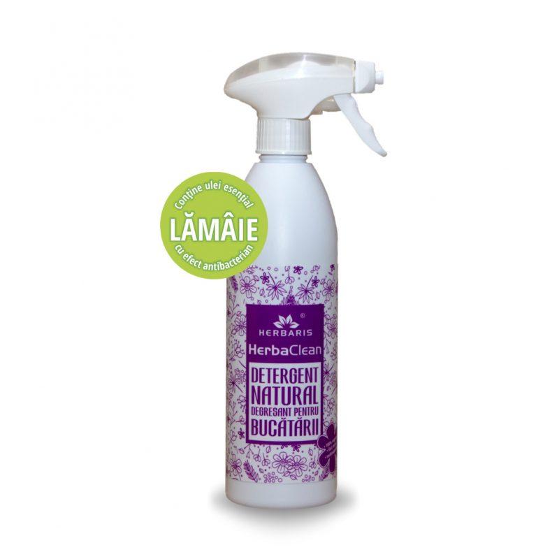 Detergent - degresant natural pentru bucătării cu Lămâie, 500ml