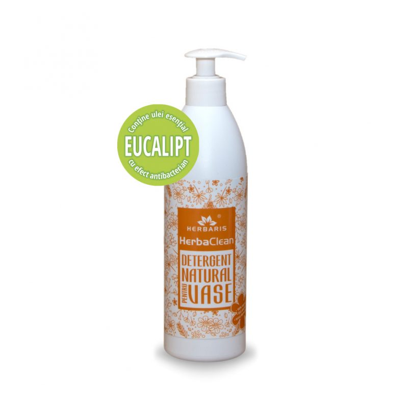 Detergent natural pentru vase cu Eucalipt , 500ml