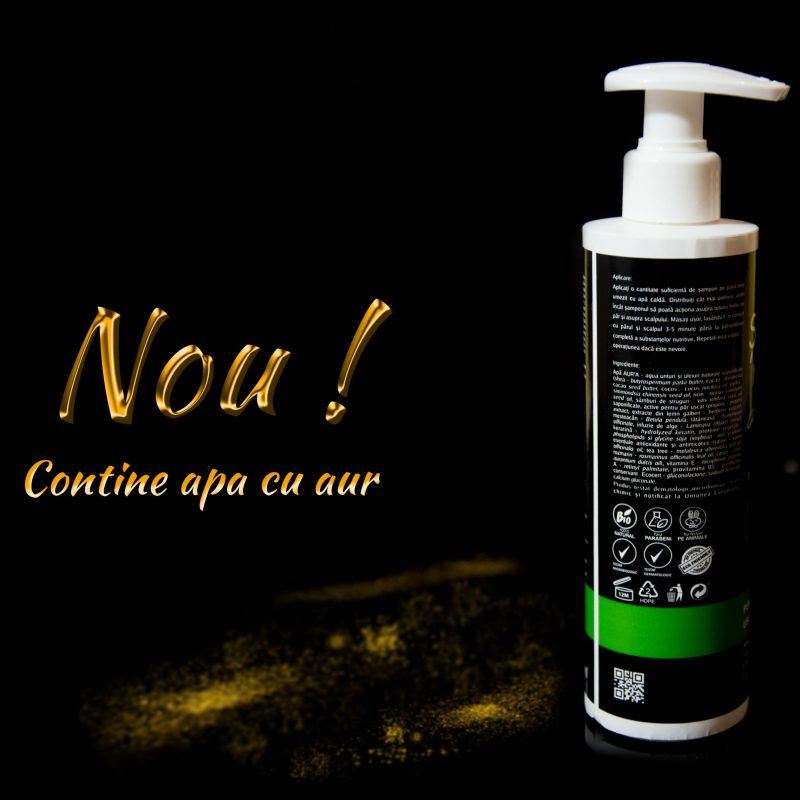 Șampon natural cu propolis pentru păr uscat, 250ml